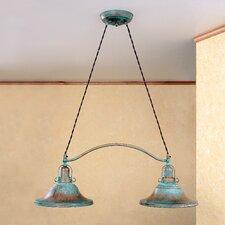 Rustik Charleston Two Light Chandelier