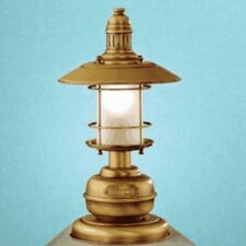 """Nautic Ancora Small 15.16"""" H Table Lamp with Bell Shade"""