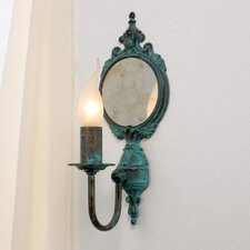 Classic Candle 1 Light Wall Sconce