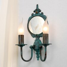 Classic Candle 2 Light Wall Sconce