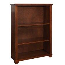 "Woodridge 60""H Wood Bookcase with Two Adjustable Shelves"