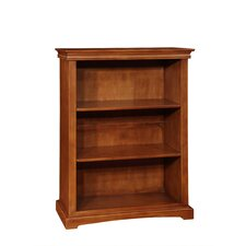 """Cambridge 60""""H Wood Bookcase with Two Adjustable Shelves"""