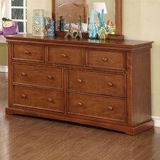 "Cambridge 60""W 7-Drawer Wood Dresser"