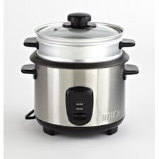 10 Cup Rice Cooker with Steamer Tray