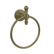 Retro Wave Wall Mounted Towel Ring
