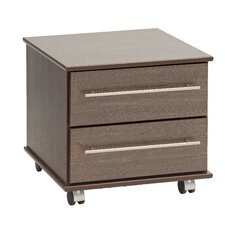 New York 2 Drawer Bedside Table