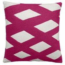 Plaid Wool Throw Pillow