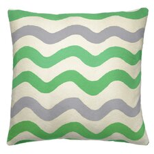 RicRak Wool Throw Pillow