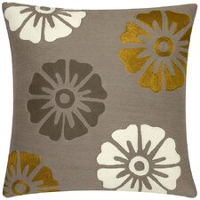 Rosette New Zealand Wool Throw Pillow