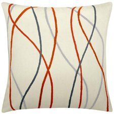 Streamers New Zealand Wool Throw Pillow