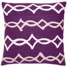 Acrobat Wool Throw Pillow