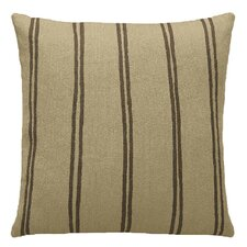 Double Stripe Wool Throw Pillow