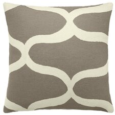 Wave Wool Throw Pillow