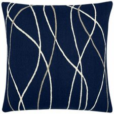 Streamers Wool Throw Pillow