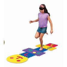 Smiley Hopscotch Game Set
