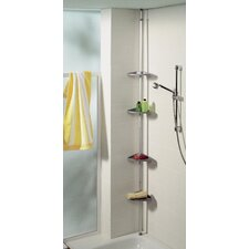 Telescopic Metal Wall Mounted Bathroom Shower Caddy
