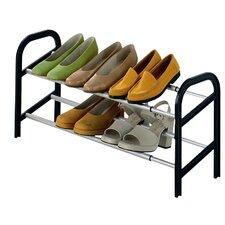 Schuhständer in Schwarz