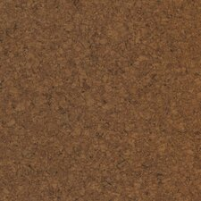 "Modoc 12"" Engineered Cork Hardwood Flooring in Dark Sienna"