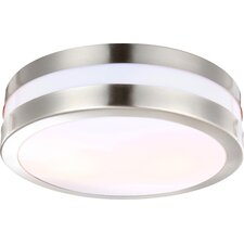 Creek 2 Light Outdoor Flush Mount
