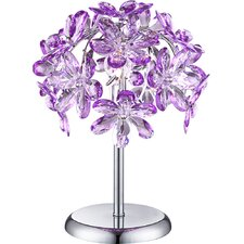 36 cm Tischleuchte Purple