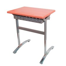 Manufactured Wood Adjustable Height Open Front Desk