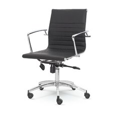 Winport Mid-Back Leather Executive Office Chair