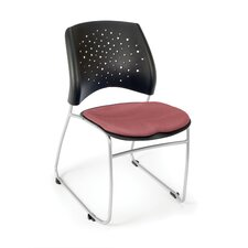 Stars and Moon Armless Multipurpose Stacking Chair