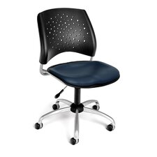 Stars and Moon Mid-Back Desk Chair