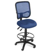 Ergonomic Mid-Back Mesh Drafting Chair