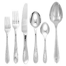 Starlight 42 Piece Stainless Flatware Set