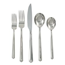 Roberto 20 Piece Stainless Flatware Set