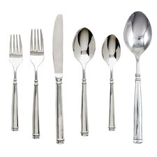 Naples 42 Piece Stainless Flatware Set