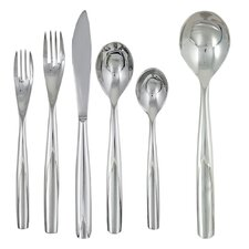Charlie 42 Piece Flatware Set