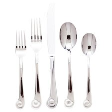 Sanibel 20 Piece Surf Flatware Set