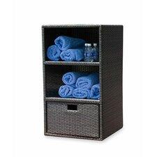 Zen Wicker Towel Storage