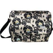 Seattle Poly Satin Messenger Bag