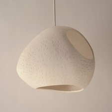 Claylight Pendant - Large Double Cut Line Pattern