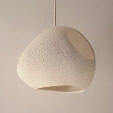 Claylight Pendant - Large Double Cut Line Pattern