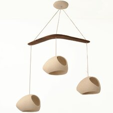Claylight 3 Light Pendant