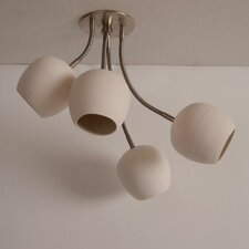 Claylight 4 Light Semi-Flush Mount