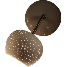 Claylight 1 Light Wall Sconce in Dots