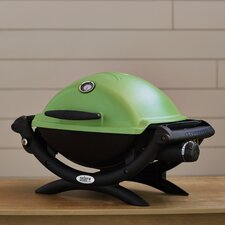"Q® Series 40.9"" Gas Grill in Green"