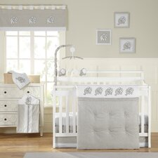 Elephant Chic 11 Piece Crib Bedding Set