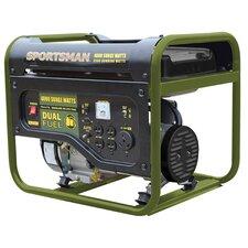 4000 Watt Portable Dual Fuel Generator