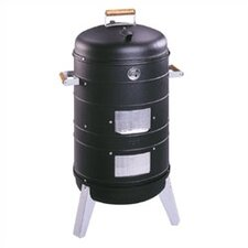 2 in 1 Charcoal Combo Water Smoker & Lock 'N Go Grill