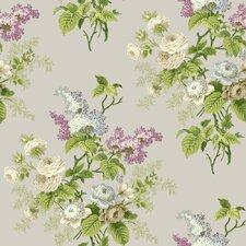 """Waverly Cottage Emma's Garden 33' x 20.5"""" Floral Wallpaper"""