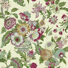 "Waverly Global Chic 33' x 20.5"" Floral and Botanical Wallpaper"