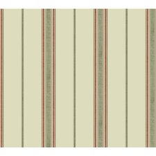 "Global Chic Incense 27' x 27"" Stripes Wallpaper"