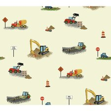 "Waverly Kids 27' x 27"" Wallpaper"