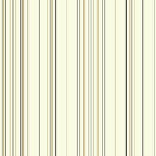 "Waverly 33' x 20.5"" Harmony Stripe Roll Wallpaper"